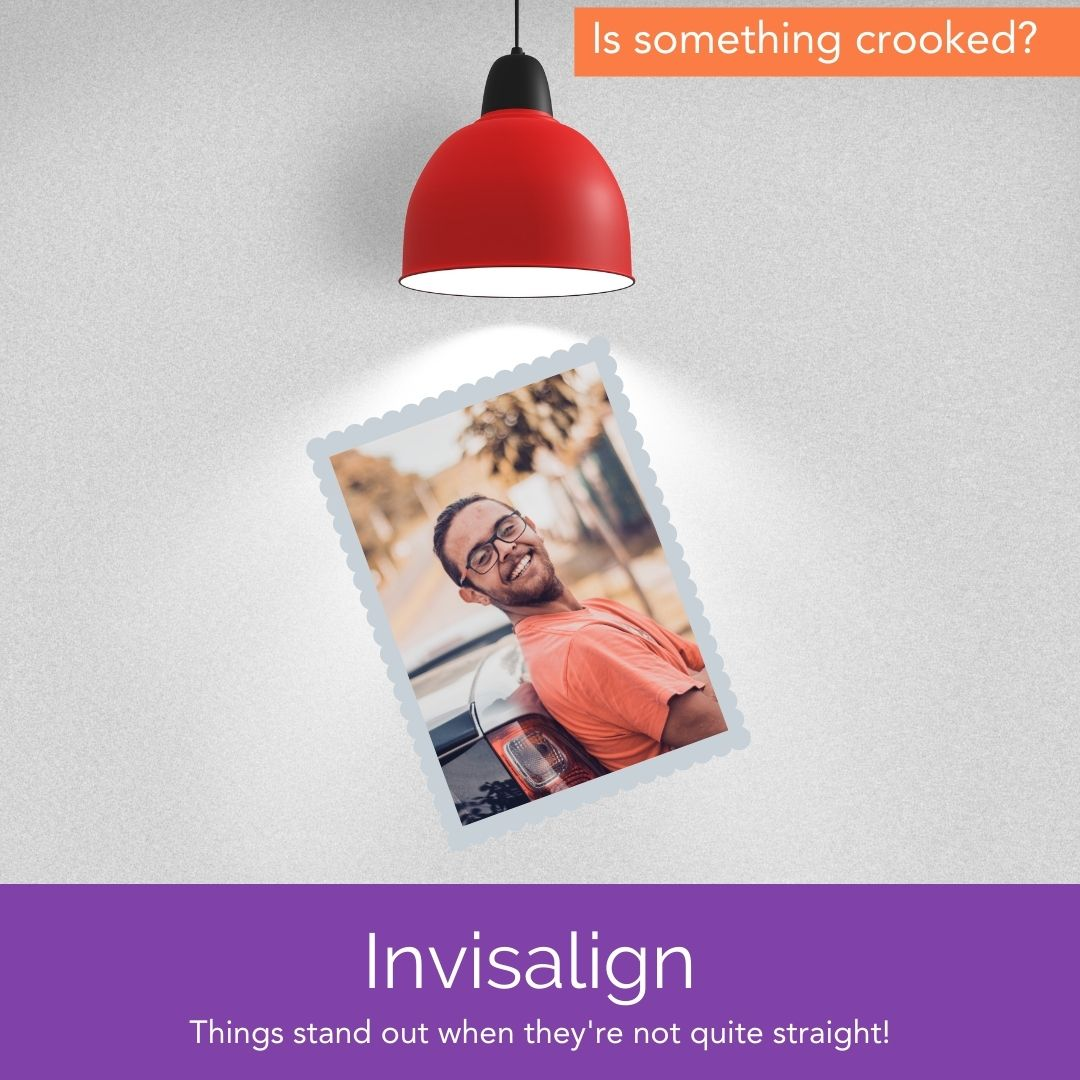 Invisalign - other things that stand out when things aren't straight